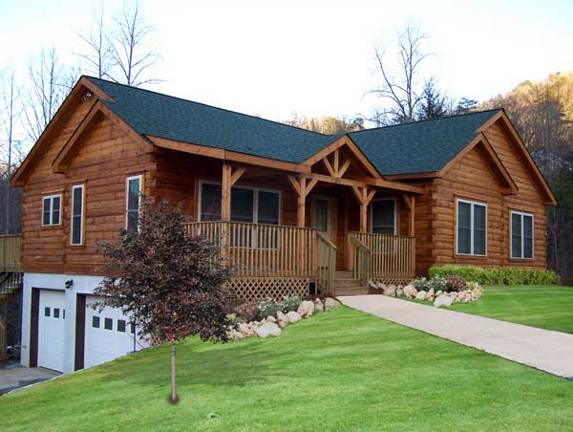 Columbus III Log Home Plan By Blue Ridge Log Cabins