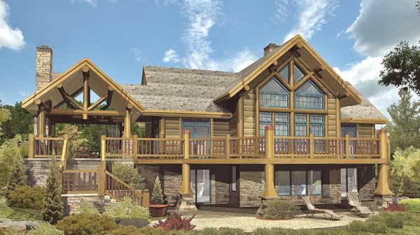 cheyenne ii log home floor plan by wisconsin log homes