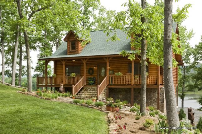 Alderson Log Cabin Home By Honest Abe.