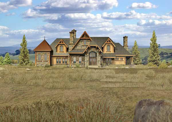floor plans: hybrid log homes | page 1