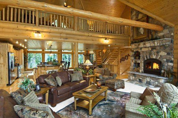 Lakehouse Home Plan By Golden Eagle Log Homes
