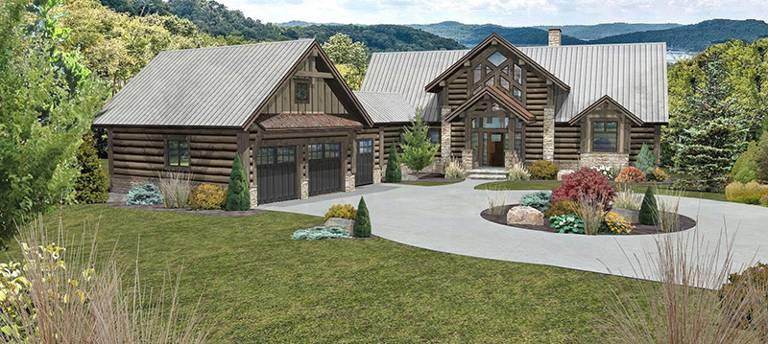 Granite Ridge by Wisconsin Log Homes