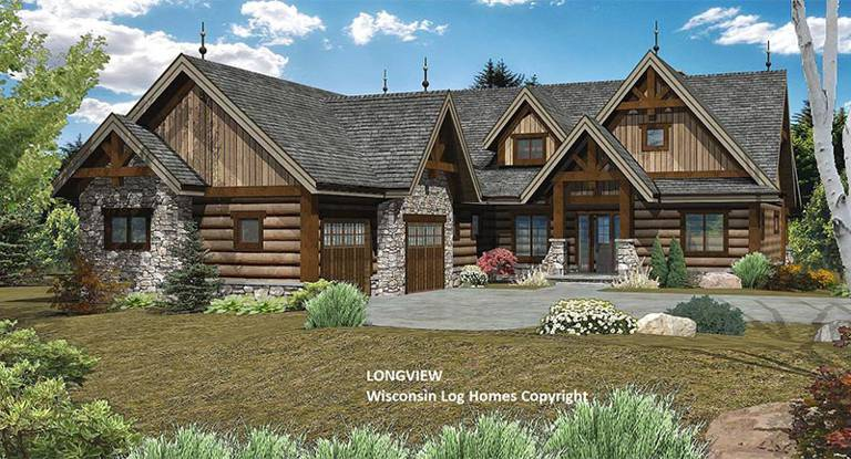 longview-front-rendering-by-wisconsin-log-homes-1