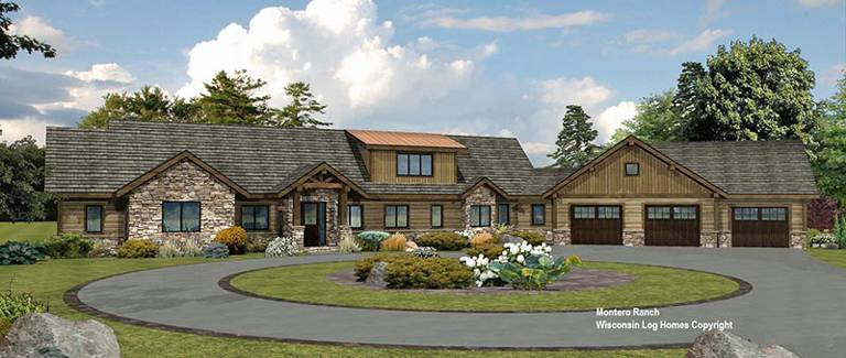 montero-ranch-front-rendering-log-wisconsin-log-homes-inc