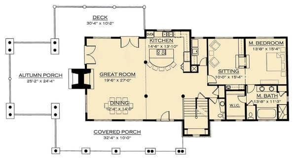 Ravens Nest Timber Floor Plan by Natural Element Homes