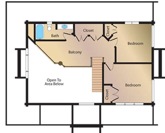 Mountain View Lodge Home Plan By Natural Element Homes