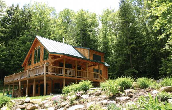 Augusta Home Plan By Real Log Homes