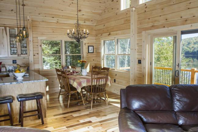 log cabin home designs. Swiftwater Log Cabin Plan by Coventry  Floor Plans Page 1