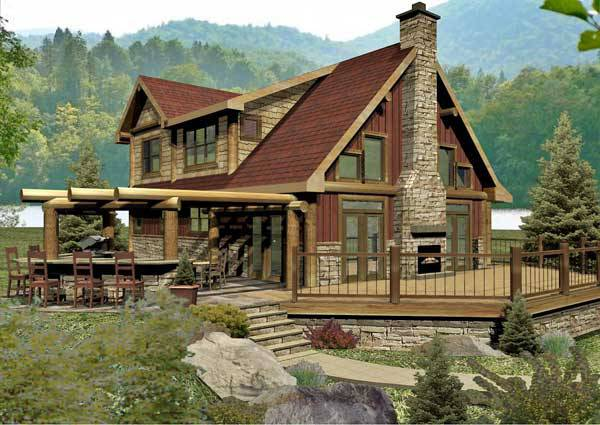 Tahoe crest log home floor plan by wisconsin log homes for Www loghome com