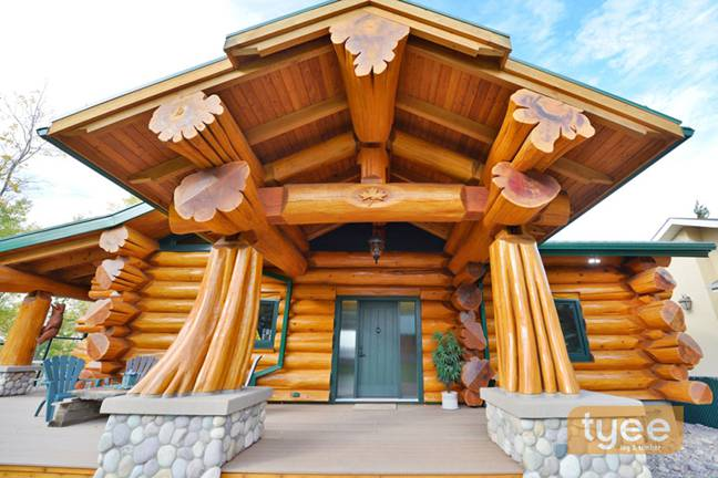 tyee log and timber homes