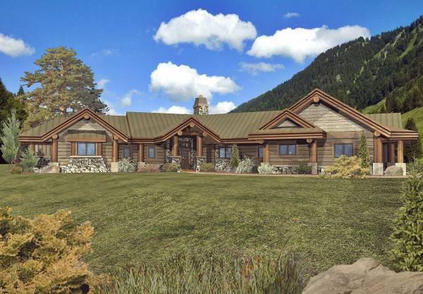 Luxury Log Home Floor Plans | Mansion Log Homes on