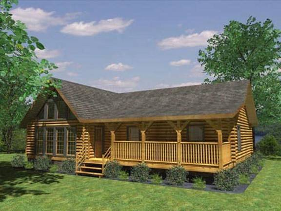 aztec log home plan by honest abe log