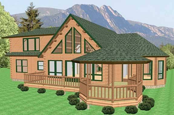 Cabin Floor Plans find this pin and more on amazing house plans Chateau Log Home Plan By Katahdin Cedar Log Homes