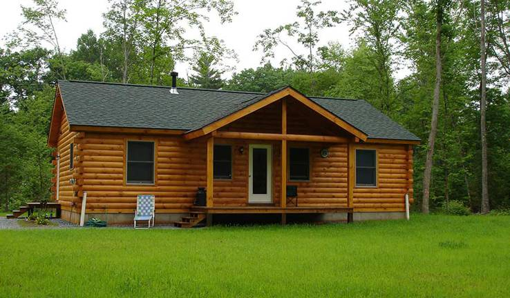 Braxton Log Home by Coventry