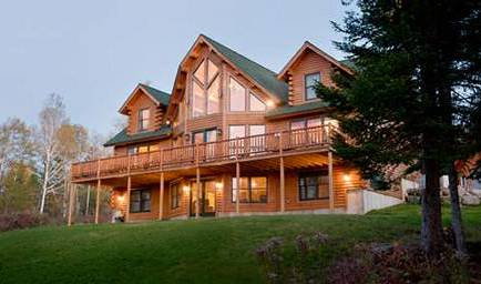 Katahdin Cedar Log Homes, cabin