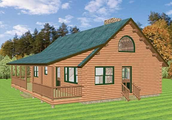 Floor Plans: Log Cabin Plans | Page 1