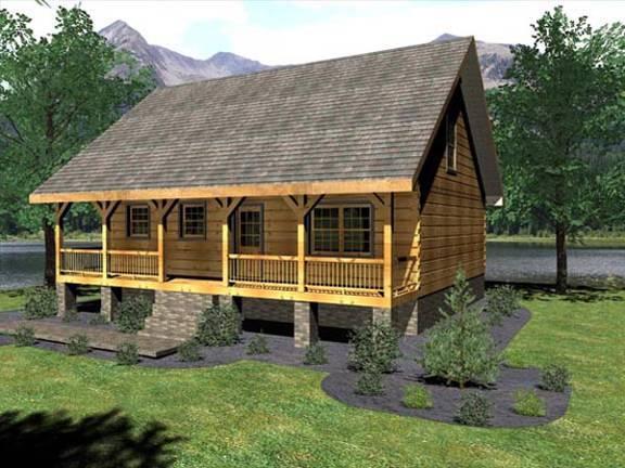 Floor Plans: Log Cabin Plans | Page 1