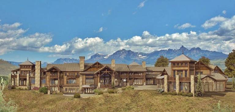Log home floor plans from log home living page 1 for Luxury timber frame house plans